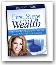 Dani Johnson First Steps to Wealth book