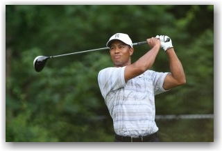 Tiger Woods (photo by Keith Allison, WikiMedia Creative Commons License)