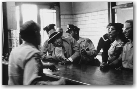 Dr. Martin Luther King Jr. Being Arrested