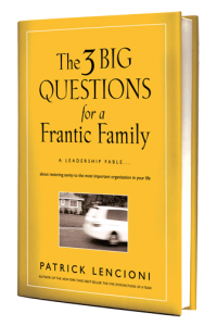 The Three Big Questions of a Frantic Family