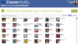 Use Facebook to find job Career Notify