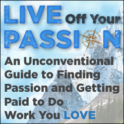 Live Off Your Passion e-Course